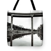 By Train Boat Or Automobile Tote Bag