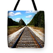 Never Ending Tracks Tote Bag