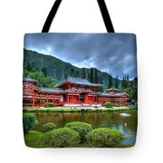 Byodo Temple Tote Bag