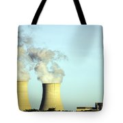 Byron Nuclear Plant Tote Bag