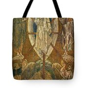 Byzantine Icon Depicting The Transfiguration Tote Bag