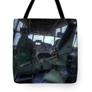 C-130 Cockpit Tote Bag