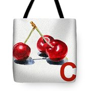 C Art Alphabet For Kids Room Tote Bag