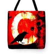 C Is For Crow Tote Bag by Carol Leigh