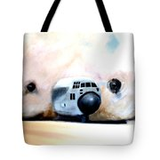 C130 Landing In A Sandstorm Air Force Military Tote Bag