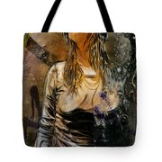 C215 Beautiful Model Tote Bag