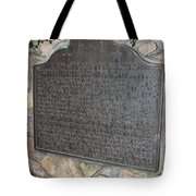 Ca-606 Bf Hastings Bank Building Western Terminus Of The Pony Express Tote Bag