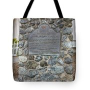 Ca-714 Mendocino Presbyterian Church Tote Bag