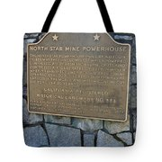 Ca-843 North Star Mine Powerhouse Tote Bag