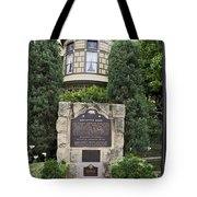 Ca-868 Winchester House Tote Bag