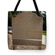 Ca-908 Filoli Fight-love-live Historical Marker Tote Bag