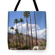 Cabanas Palm Springs Tote Bag