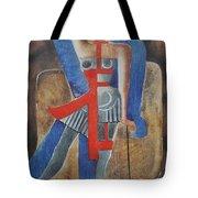 Cabaret Dancer Tote Bag