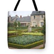 Cabbage Garden  Chateau Villandry Tote Bag