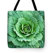 Cabbage Leaves Tote Bag
