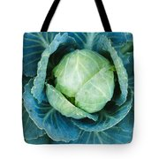 Cabbage Painterly Tote Bag