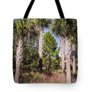 Cabbage Palm Tote Bag