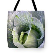 Cabbage Still Life Tote Bag