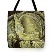 Cabbage Still Life Tote Bag