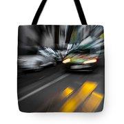 Cabbie Too Fast Tote Bag