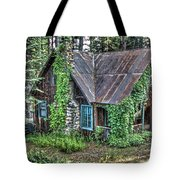 Cabin At Cooks Station Tote Bag
