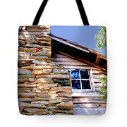 Cabin At Mabry Mill Tote Bag