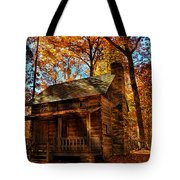 Cabin At The Cove Tote Bag