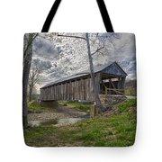 Cabin Creek Covered Bridge Tote Bag