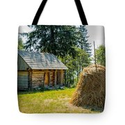 Cabin In The Shadow Tote Bag