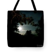 Cabin Moon Tote Bag