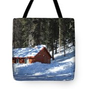 Cabin On Grand Mesa Co Tote Bag
