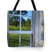 Cabin Reflections Tote Bag