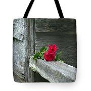 Cabin Rose Tote Bag
