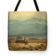 Cabin With Mountain Views Tote Bag