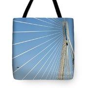 Cable Bridge Detail Tote Bag
