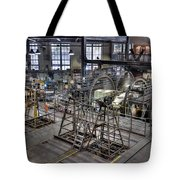 Cable Car Museum San Francisco Tote Bag