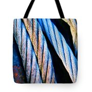 Cable Colour Tote Bag