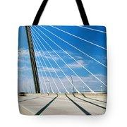 Cable-stayed Bridge, Arthur Ravenel Jr Tote Bag