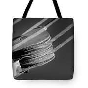 Cables And Pulleys Tote Bag
