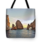 Cabo San Lucas Arch Sunset Tote Bag