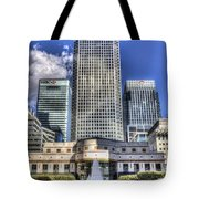 Cabot Square London Tote Bag