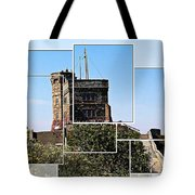 Cabot Tower Montage Tote Bag