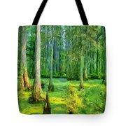 Cache River Swamp Tote Bag