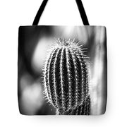 Cacti B And W  Tote Bag