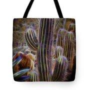 Cacti Lights Tote Bag