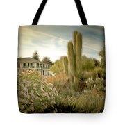 Monterey California Cactus Garden Tote Bag