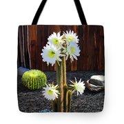Cactus Blooms Tote Bag