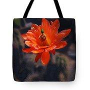 Cactus Blossom 1 Tote Bag