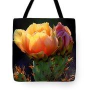 Cactus Blossom Tote Bag
