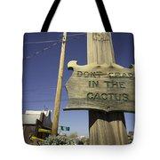 Cactus Crap  Tote Bag